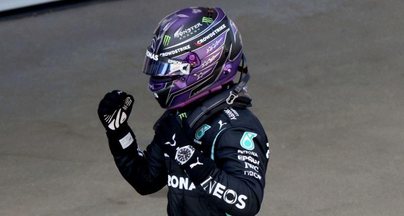 Q3 : 100e pole position pour Hamilton