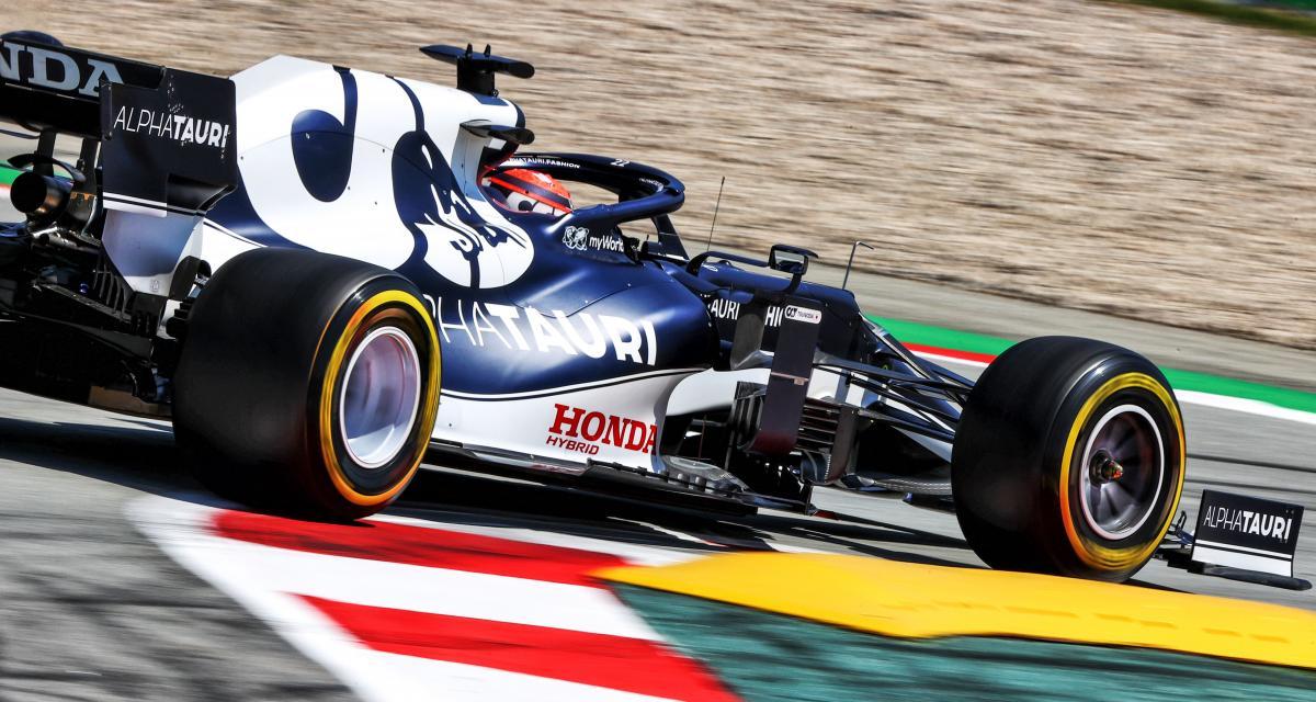 GP d'Espagne de F1 : l'abandon de Yuki Tsunoda en vidéo