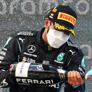 GP d'Espagne de F1 : la réaction de Lewis Hamilton après sa victoire en vidéo