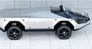 Pandemax Vehicle Concept : le designer du Tesla Cybertruck aurait-il de nouveau sévi ?