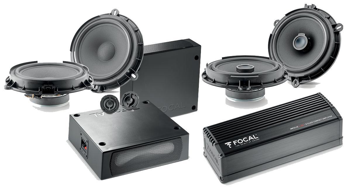 Un pack hi-fi intégrable pour le Ford Transit Custom chez Focal