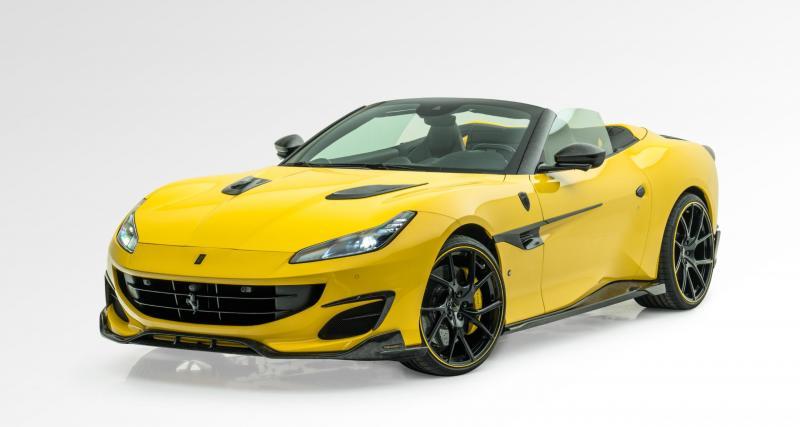Mansory habille la Ferrari Portofino avec une généreuse quantité de carbone forgé
