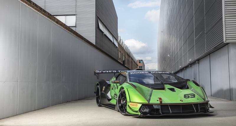 La Lamborghini Essenza SCV12 débarque sur le célèbre jeu mobile Asphalt 9 : Legends