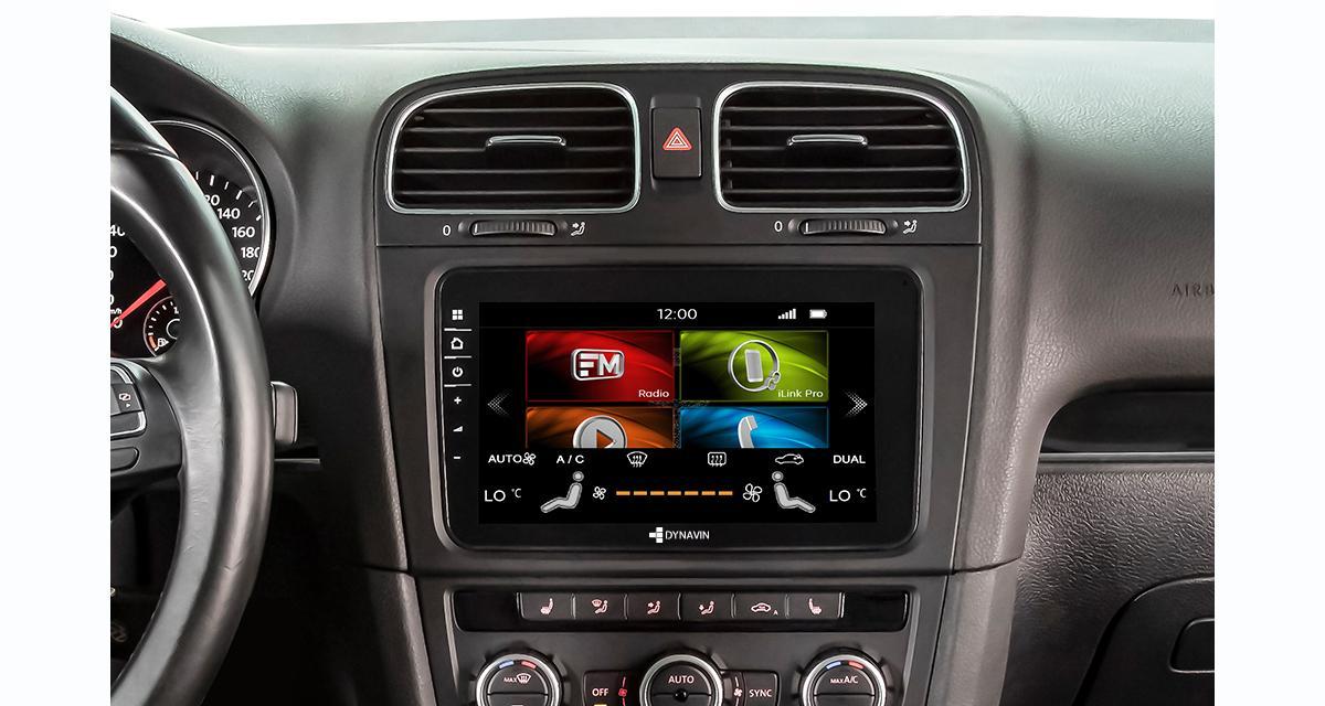 Dynavin commercialise un nouvel autoradio CarPlay pour les VW à un prix canon