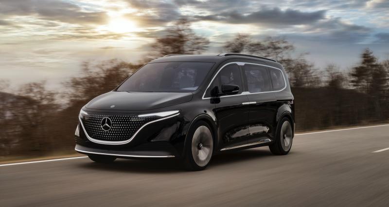 Mercedes Concept EQT : le Renault Kangoo en robe étoilée