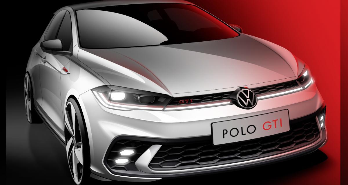 Nouvelle Volkswagen Polo GTI (2021) : 1ère image officielle pour la sportive allemande