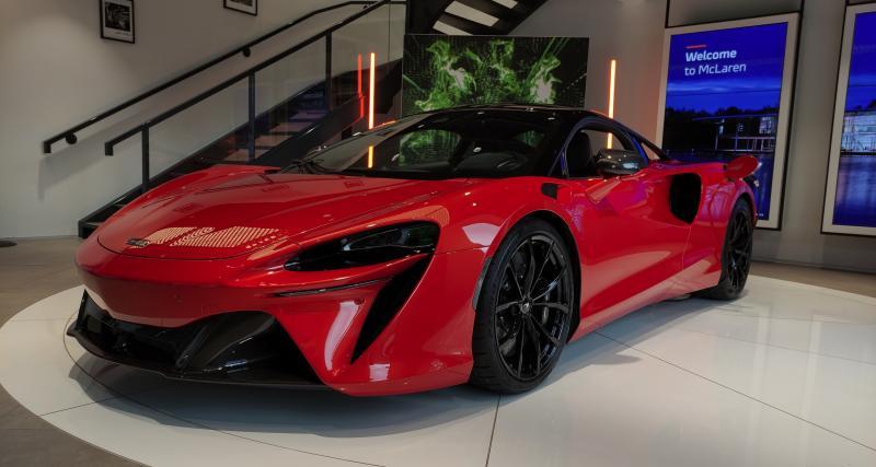 Nouvelle McLaren Artura (2021) : rencontre avec la supercar hybride rechargeable