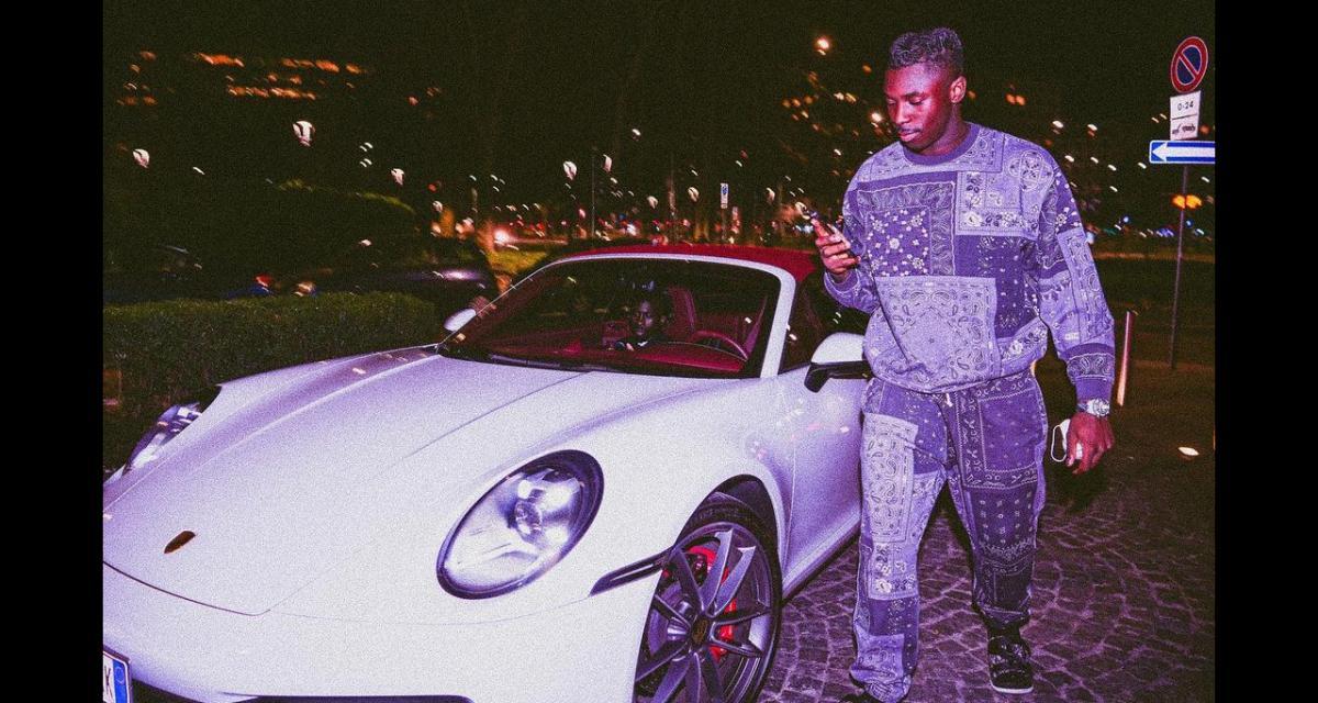 Moise Kean dévoile à ses abonnés sa nouvelle acquisition à 150.000€