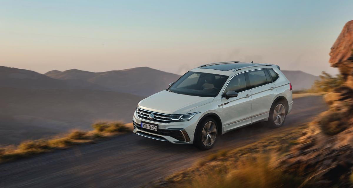 Nouveau Volkswagen Tiguan Allspace (2021) :maj pour la version longue du SUV allemand