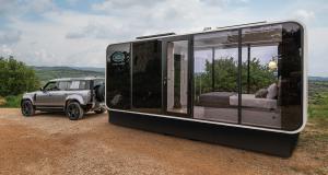 Camping-car Defender Eco Home : un Airbnb derrière votre Land Rover Defender, ça vous dit ?