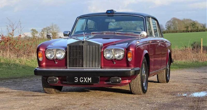 La Rolls-Royce Silver Wraith II de la princesse Margaret aux enchères