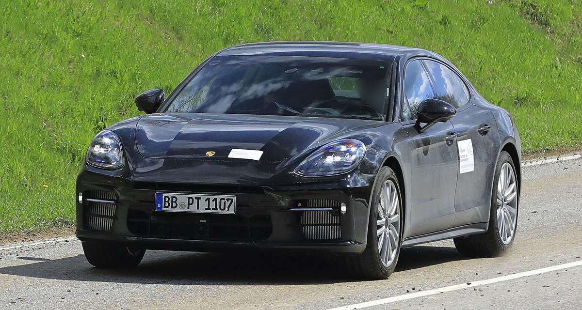 Porsche Panamera (2022) : un second restylage à venir ?