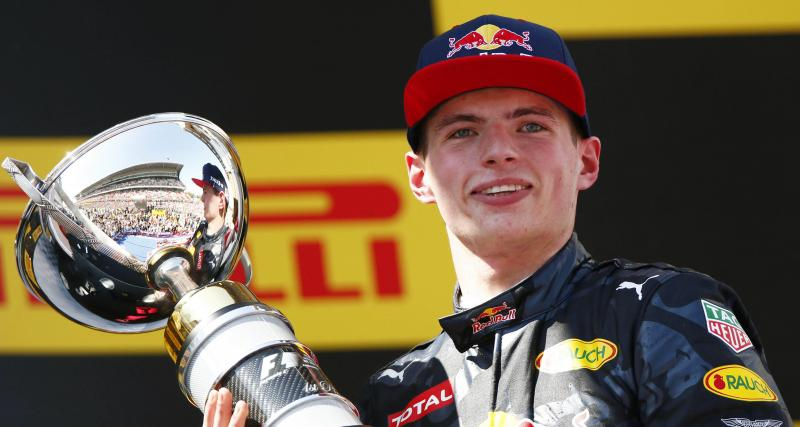 Il y a 5 ans… la première victoire de Max Verstappen en F1