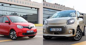 Renault Twingo Electric vs Smart EQ Fortwo : match électrique