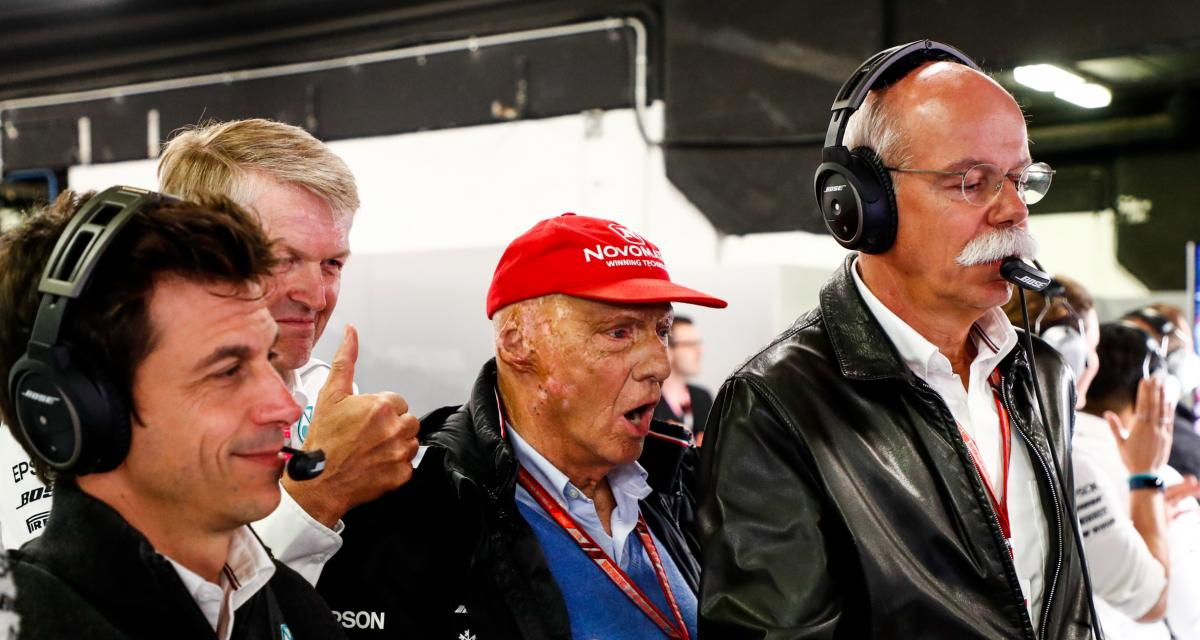 Il y a 45 ans… la 10e victoire de Niki Lauda en F1