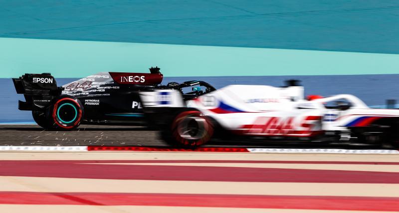 """GP d'Espagne de F1, Toto Wolff contre Mazepin : """"Il nous fait perdre la position"""""""