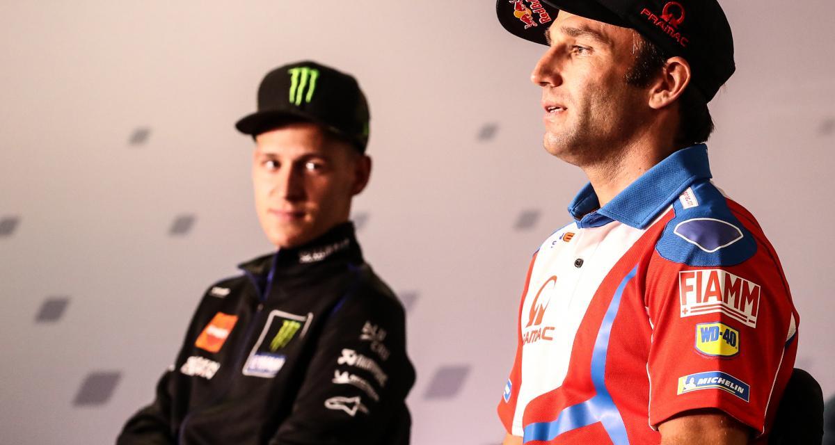 GP de France de MotoGP : le message en vidéo de Zarco et Quartararo avant les essais libres