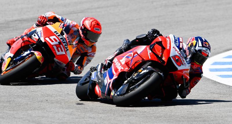 GP de France de MotoGP : les résultats des essais libres 2