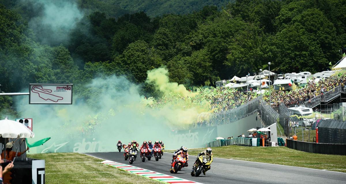 GP d'Italie de MotoGP : il n'y aura pas de public sur le circuit du Mugello
