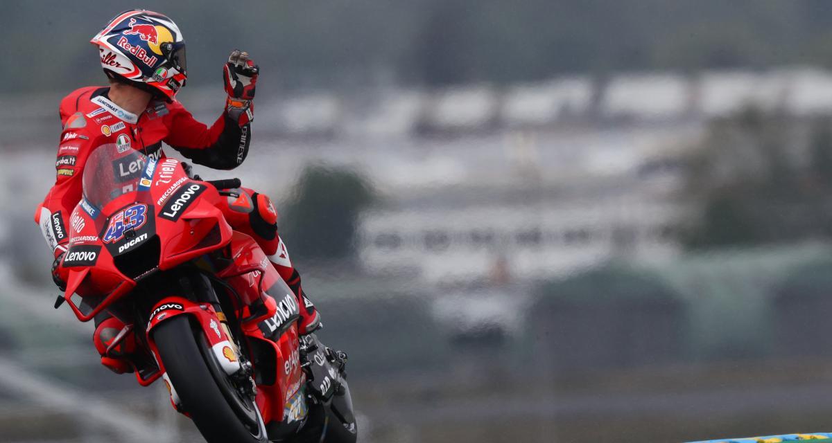 GP de France de MotoGP : les résultats des essais libres 3