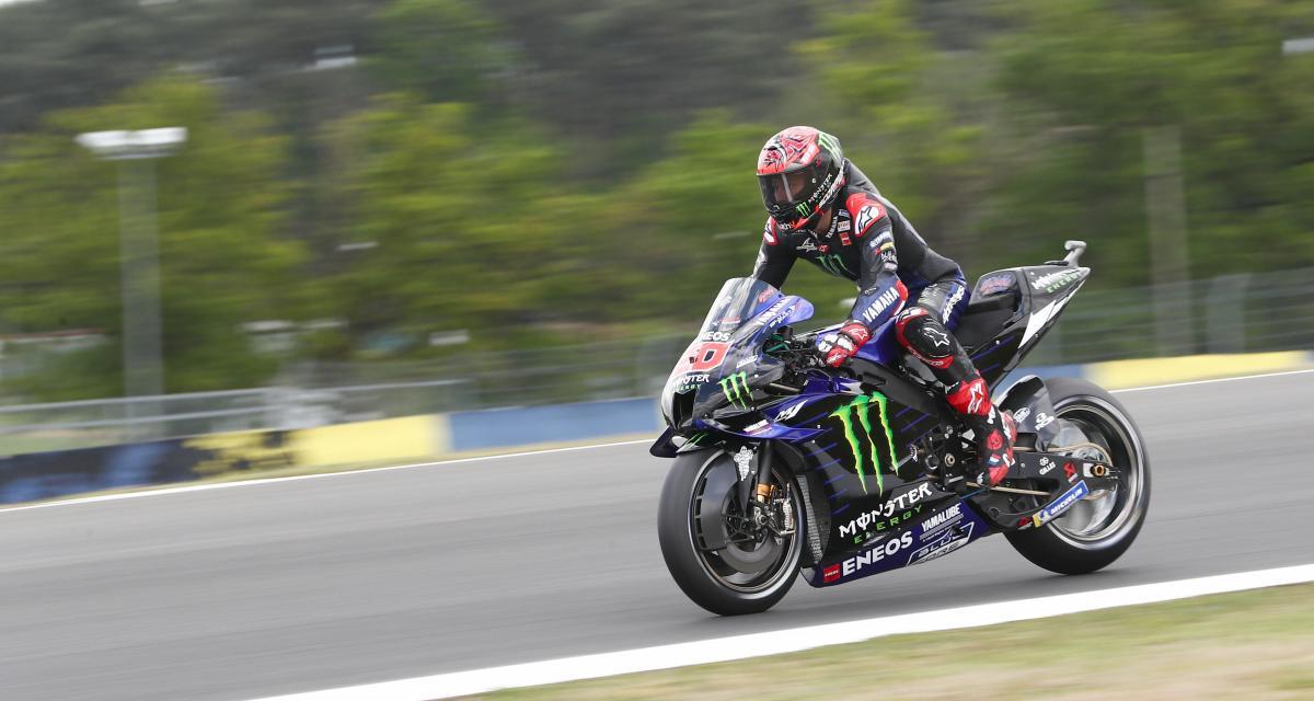 GP de France de MotoGP : la visite du box de Fabio Quartararo en vidéo