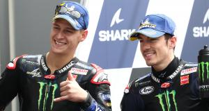 GP de France de MotoGP : l'interview de Fabio Quartararo et Maverick Vinales
