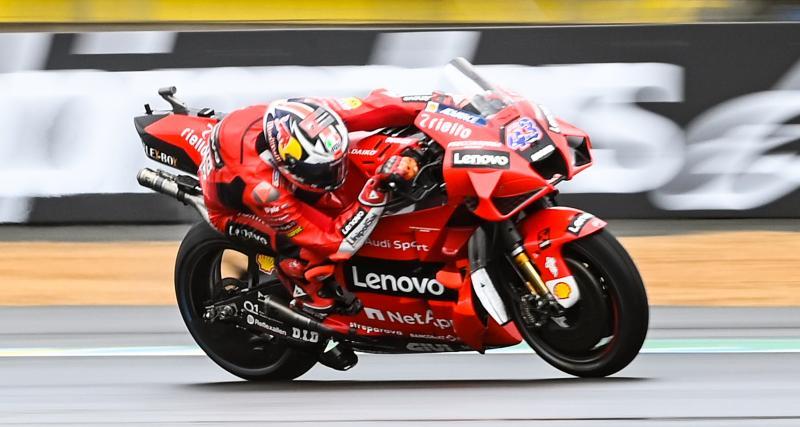 GP de France de MotoGP : le classement final de la course