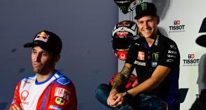 GP de France de MotoGP : le dépassement de Zarco sur Quartararo en vidéo