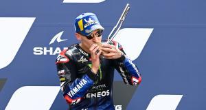 GP de France de MotoGP : la réaction de Quartararo après la course en vidéo