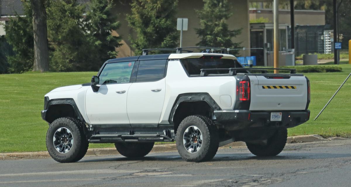 Hummer EV Edition 1 (2022) : les premières photos du pick-up électrique sur la route