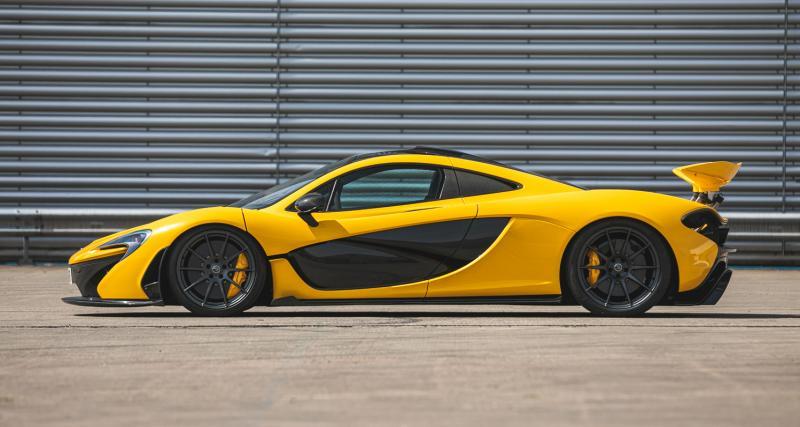 La toute 1ère McLaren P1 bientôt à vendre aux enchères