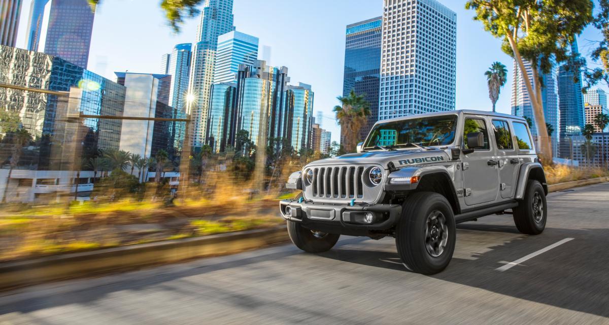 Nouveau Jeep Wrangler 4xe : les prix du tout-terrain hybride rechargeable