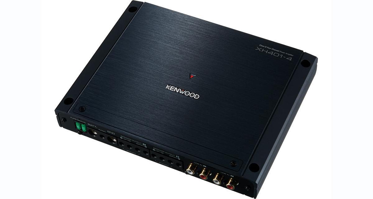 Kenwood dévoile un ampli 4 canaux compact et puissant