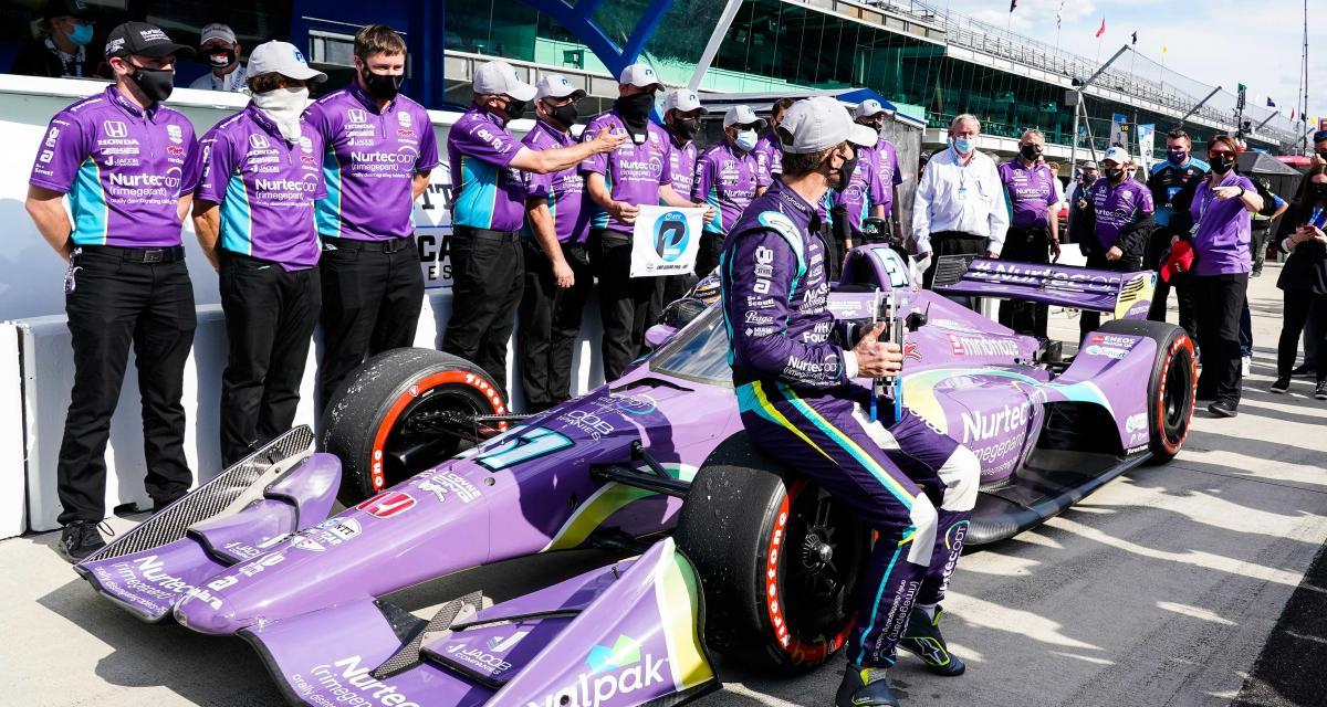 "IndyCar - Romain Grosjean : ""maintenant, je veux plus"""