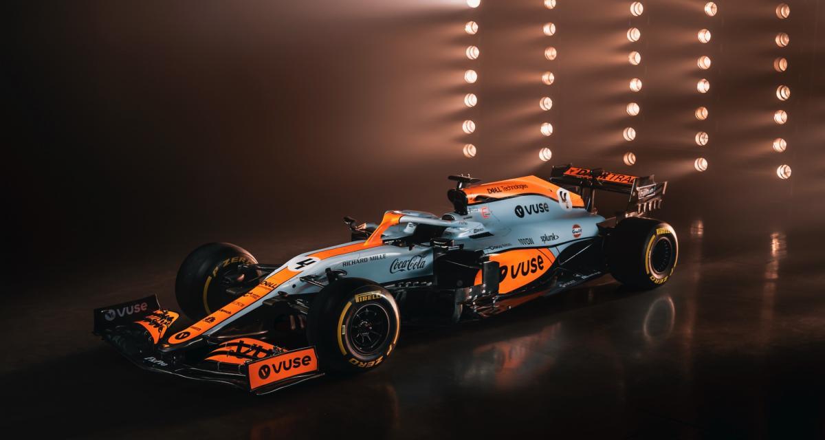 F1 - McLaren Racing : une livrée Gulf unique pour le Grand Prix de Monaco