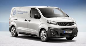 Opel Vivaro-e Hydrogen : l'utilitaire passe à la pile à combustible
