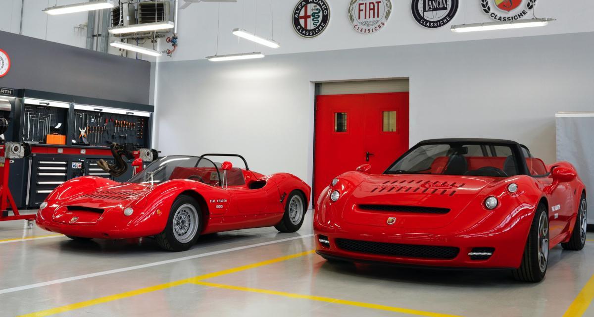 Abarth 1000 SP : un one-off hommage sur base d'Alfa Romeo 4C