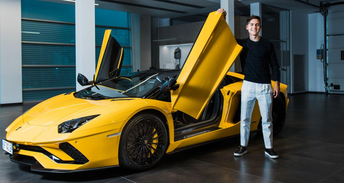 Paulo Dybala s'offre une Lamborghini Aventador S Roadster après son 100e but avec la Juventus