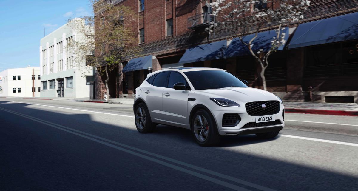 Jaguar E-Pace R-Dynamic Black Edition : une série spéciale sobre et élégante