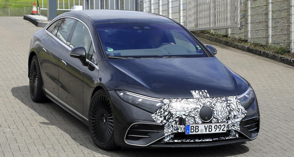 Mercedes-AMG EQS (2022) : une identité sportive plutôt discrète en perspective