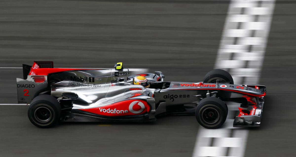 F1 - Sir Lewis Hamilton : sa McLaren 2010 aux enchères mi-juillet pour la bonne cause