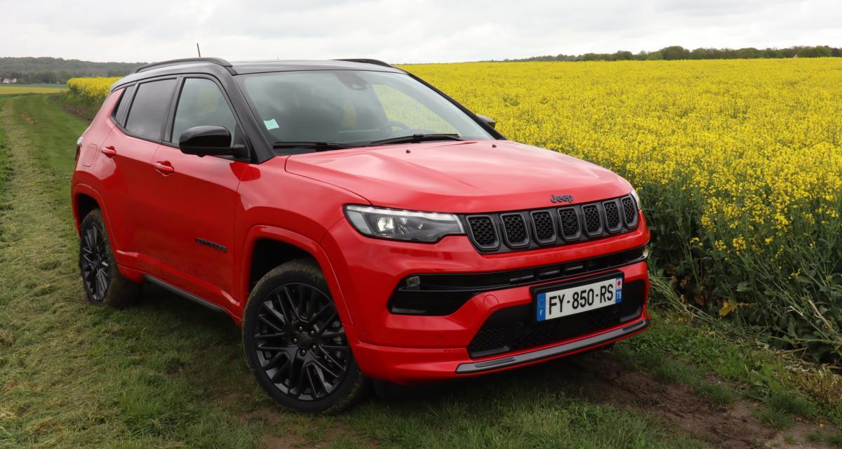 Essai du Jeep Compass 4xe (2021) : nouvelle image pour nouveau départ