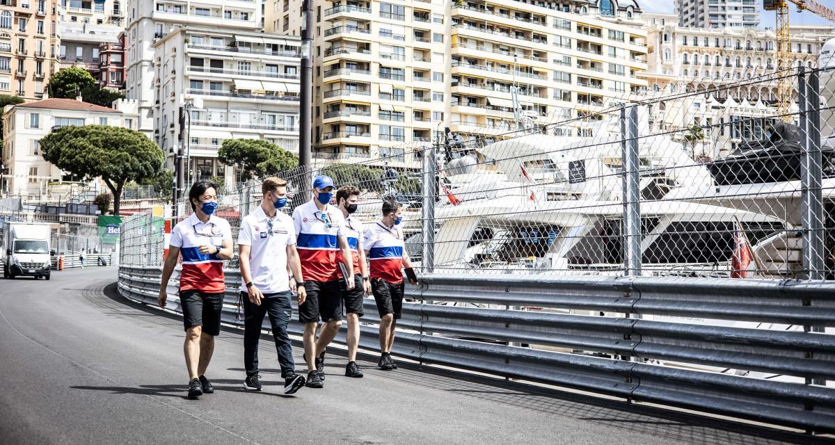 GP de Monaco de F1 : les résultats des essais libres 1