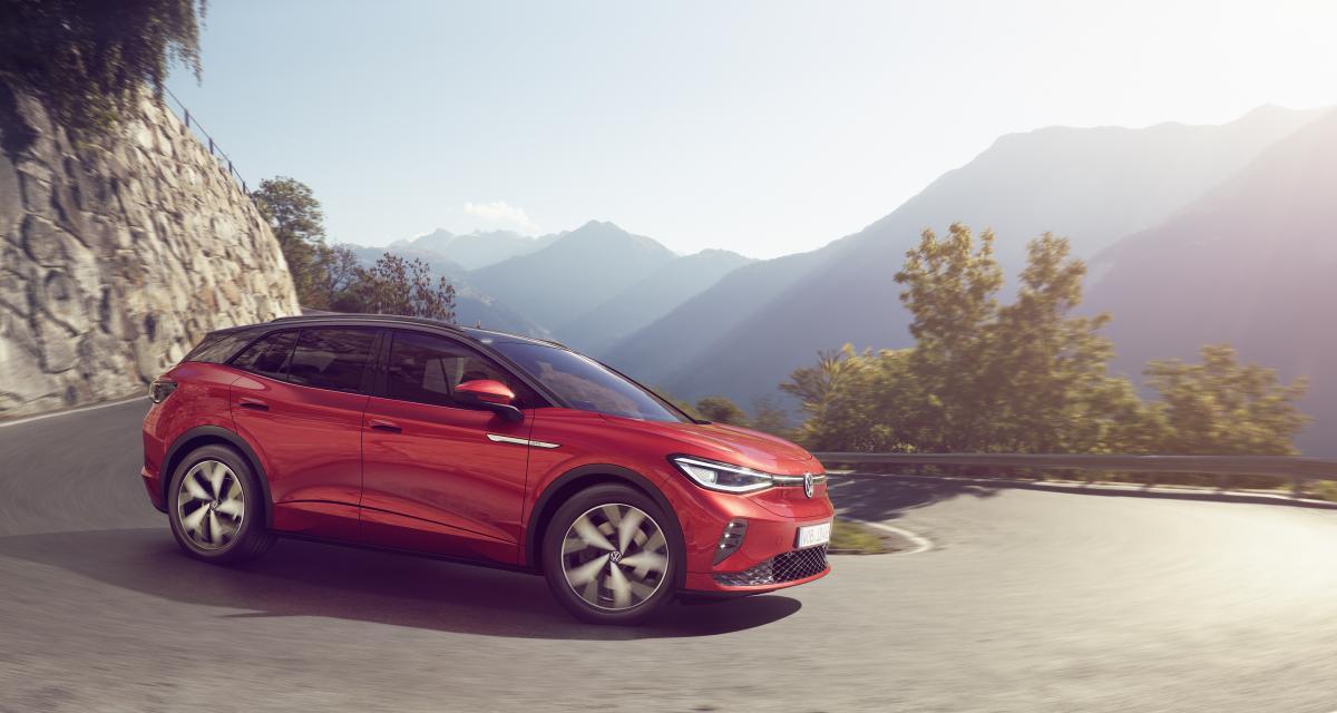 Nouvelle Volkswagen ID.4 GTX : la version sportive du SUV électrique à partir de 52.450€