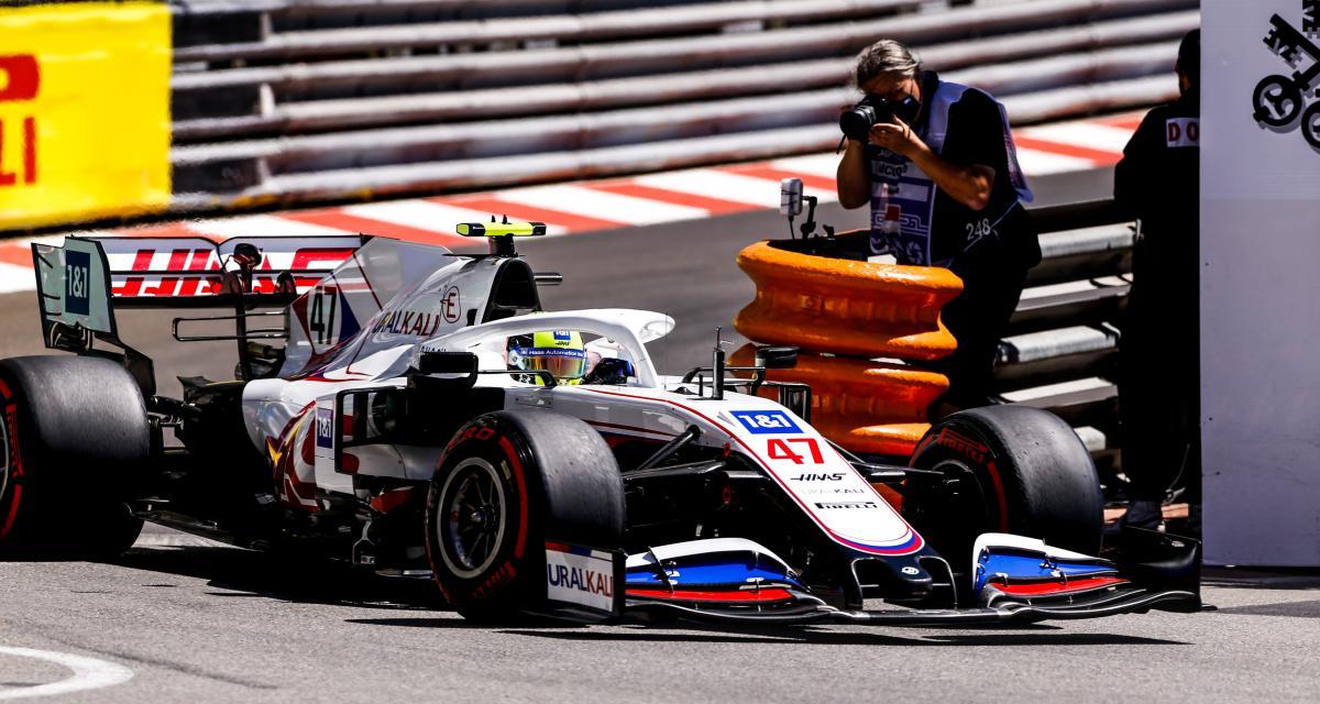 GP de Monaco de F1 : l'accident de Mick Schumacher lors des essais libres 2 en vidéo