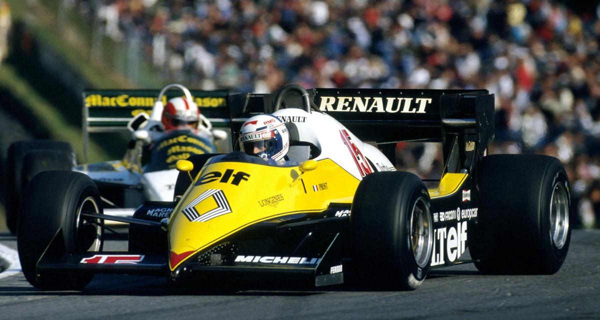 Il y a 38 ans… la 13e victoire de l'écurie en Renault en F1