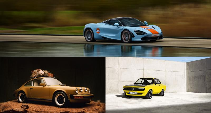 Les nouveautés auto de la semaine en images : Ford F-150 électrique, Opel Manta électrique, McLaren 720 S Gulf…