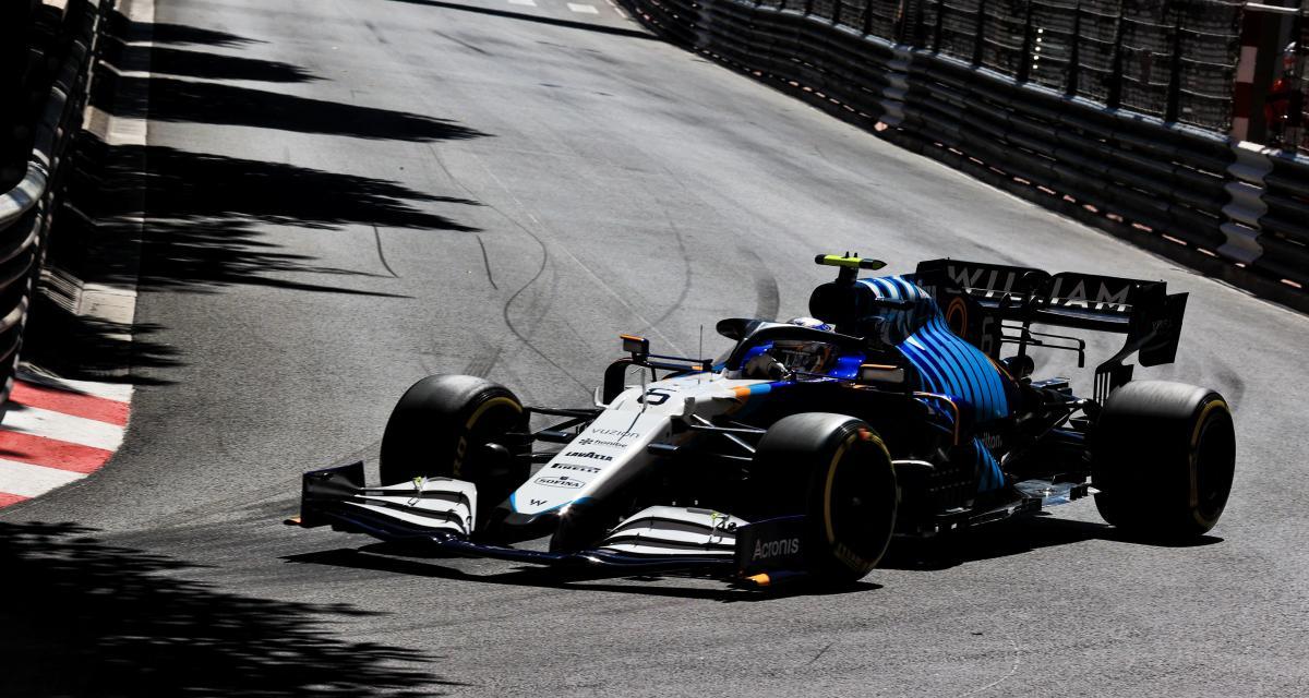 GP de F1 de Monaco : le crash de Nicholas Latifi pendant les essais libres 3 en vidéo