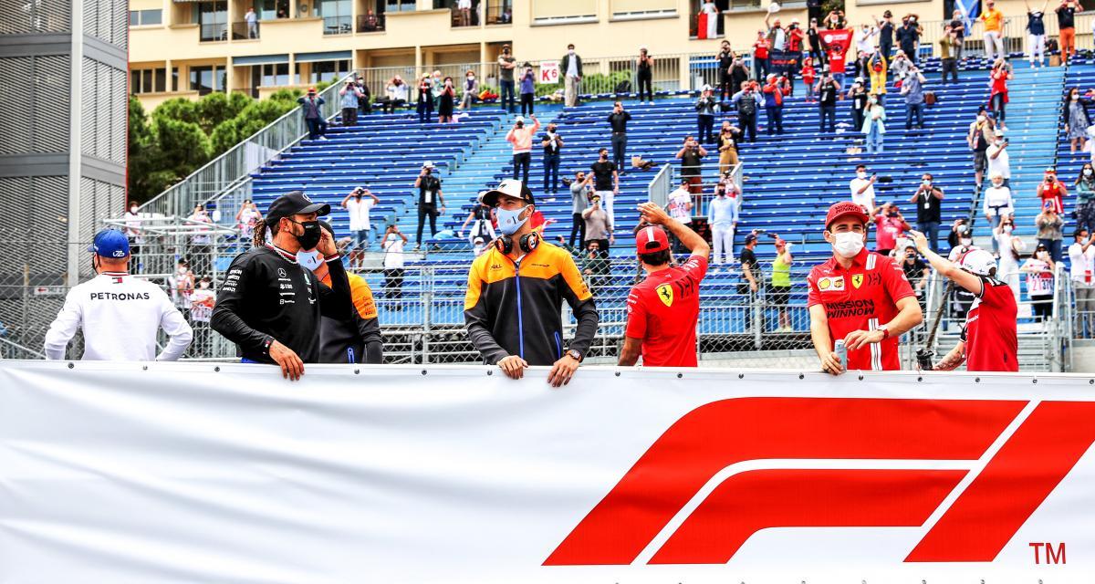 GP de Monaco de F1 : la vidéo du départ