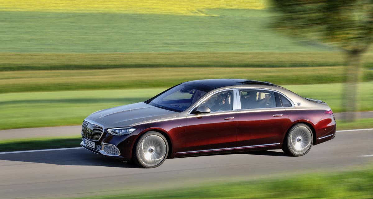 Mercedes-Maybach Classe S (2021) : les prix de la limousine